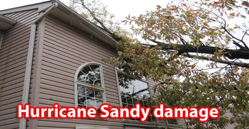 Hurricane Sandy window repair and replacement in NJ contractor
