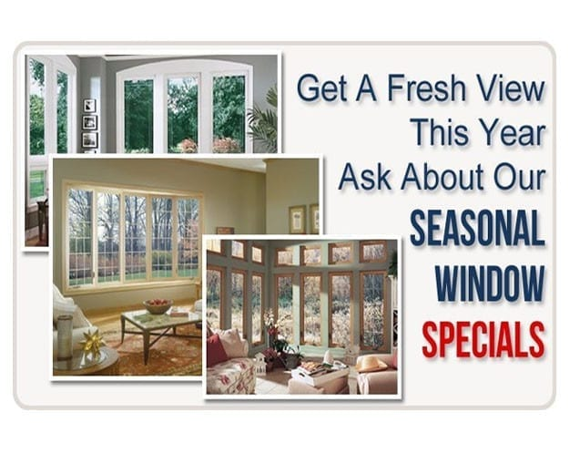Markey Home Remodeling a Fall/Winter/seasonal window replacement contractor since 1981.