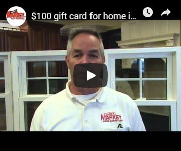 See how to get a $100 gift card toward your home improvement project
